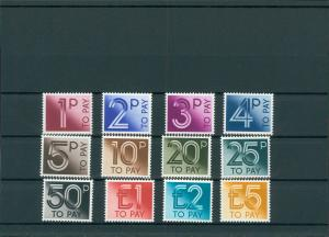 GROSSBRITANNIEN 1982 Nr P89-100 postfrisch (201460)
