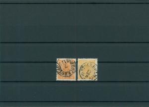 SCHWEDEN 1858 Nr 10a+b gestempelt (201464)