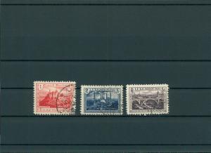 LUXEMBURG 1921 Nr 134-136 gestempelt (201538)