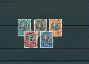 LUXEMBURG 1927 Nr 192-196 gestempelt (201544)