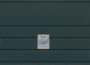 LUXEMBURG 1882 Nr D42 gestempelt (201559)
