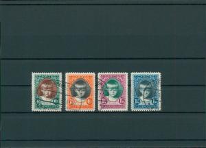 LUXEMBURG 1929 Nr 214-217 gestempelt (201565)