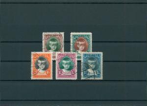 LUXEMBURG 1929 Nr 213-217 gestempelt (201566)