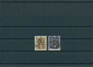 NIEDERLANDE 1923 Nr 136-137 gestempelt (201734)