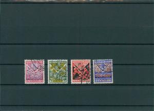 NIEDERLANDE 1927 Nr 201-204 gestempelt (201740)