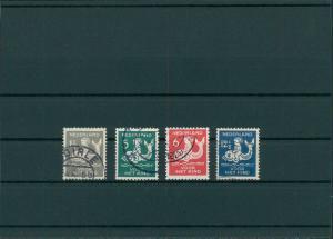 NIEDERLANDE 1929 Nr 229-232 gestempelt (201743)