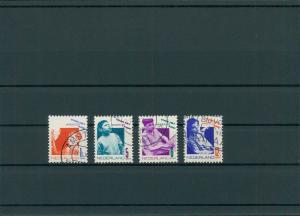 NIEDERLANDE 1931 Nr 245-248 gestempelt (201746)