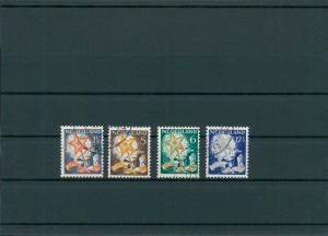 NIEDERLANDE 1933 Nr 268-271 gestempelt (201751)