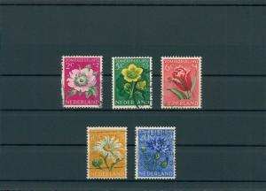 NIEDERLANDE 1952 Nr 588-592 gestempelt (201776)