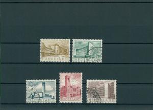 NIEDERLANDE 1955 Nr 655-659 gestempelt (201790)