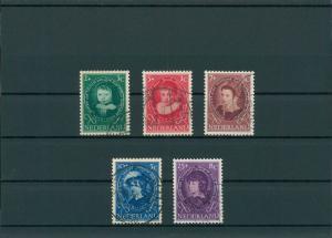 NIEDERLANDE 1955 Nr 667-671 gestempelt (201791)