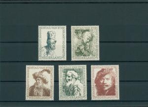 NIEDERLANDE 1956 Nr 672-676 postfrisch (201792)