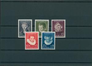 NIEDERLANDE 1956 Nr 685-689 postfrisch (201794)