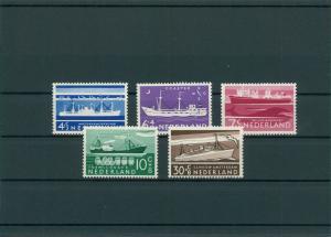 NIEDERLANDE 1957 Nr 692-696 postfrisch (201797)