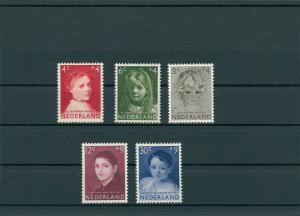 NIEDERLANDE 1957 Nr 707-711 postfrisch (201798)