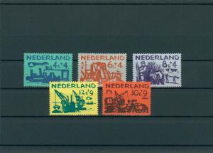 NIEDERLANDE 1959 Nr 730-734 postfrisch (201799)