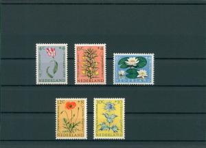 NIEDERLANDE 1960 Nr 746-750 postfrisch (201800)