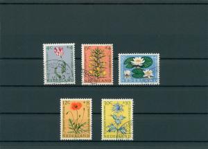 NIEDERLANDE 1960 Nr 746-750 gestempelt (201801)