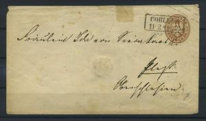 PREUSSEN 1861 Ganzsache U22 siehe Beschreibung (115375)