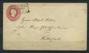 PREUSSEN 1861 Ganzsache U8 siehe Beschreibung (115562)