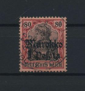 DP MAROKKO 1911 Nr 54 gestempelt (115878)