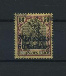 DP MAROKKO 1905 Nr 28 gestempelt (115901)