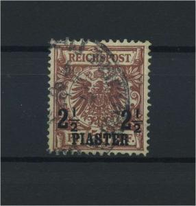 DP TUERKEI 1898 Nr 10 gestempelt (115904)