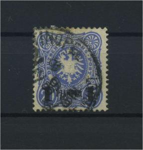 DP TUERKEI 1884 Nr 3 gestempelt (115925)