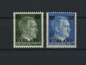KURLAND 1945 Nr 1+3 postfrisch (115935)