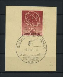 BERLIN 1950 Nr 71 gestempelt (115946)