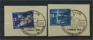 DDR 1950 Nr 246-247 gestempelt (115948)