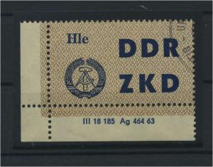 DDR ZKD 1963 Nr C7 gestempelt (115953)