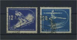 DDR 1950 Nr 246-247 gestempelt (115970)