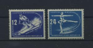 DDR 1950 Nr 246-247 postfrisch (115981)