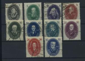DDR 1950 Nr 261-270 gestempelt (115993)