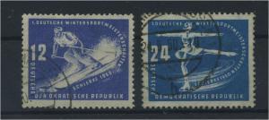 DDR 1950 Nr 246-247 gestempelt (115994)