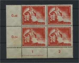 DDR 1950 Nr 274 postfrisch (116041)
