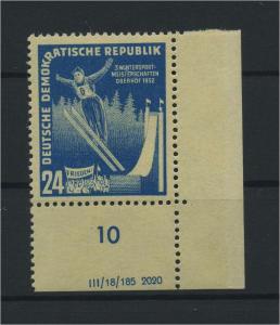 DDR 1952 Nr 299 DZ postfrisch (116071)