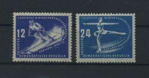 DDR 1950 Nr 246-247 postfrisch (116073)