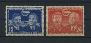 DDR 1951 Nr 296-297 postfrisch (116074)