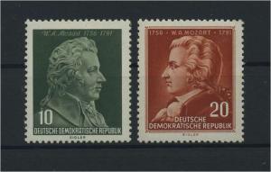 DDR 1956 Nr 510-511 postfrisch (116076)