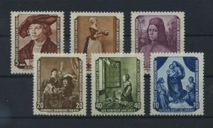 DDR 1955 Nr 504-509 postfrisch (116077)