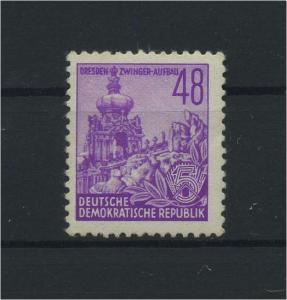 DDR 1953 Nr 376 postfrisch (116079)