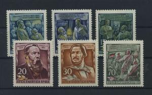 DDR 1955 Nr 485-490 postfrisch (116084)