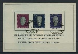 DDR 1958 Bl.15 gestempelt (116085)