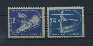 DDR 1950 Nr 246-247 postfrisch (116101)