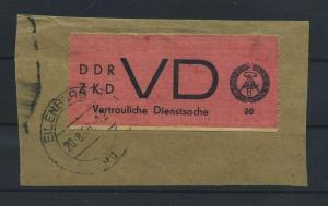 DDR ZKD 1965 Nr D1 gestempelt (116114)