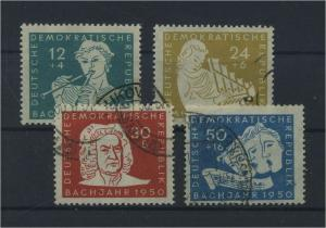 DDR 1950 Nr 256-259 gestempelt (116129)