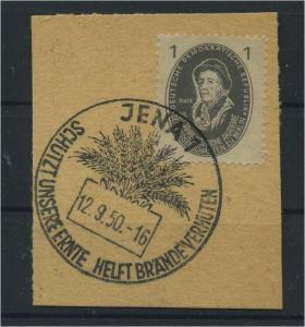 DDR 1950 Nr 261 gestempelt (116140)