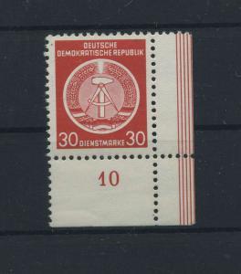 DDR 1954 Nr D11 postfrisch (116145)